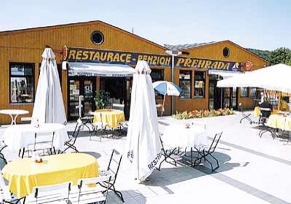 Back Exterior & Garden Restaurant - Restaurace Přehrada